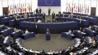 European Parliament chamber