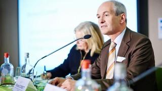Richard speaking at European Public Affairs Action Day 2014