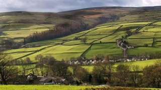 Farms in the Yorkshire dales