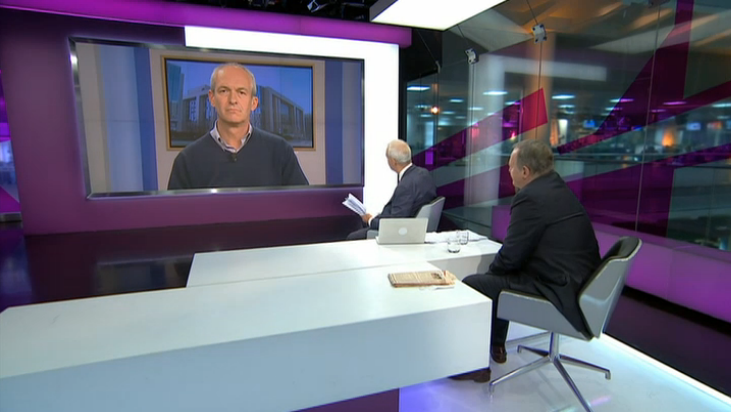 Channel 4 news debate