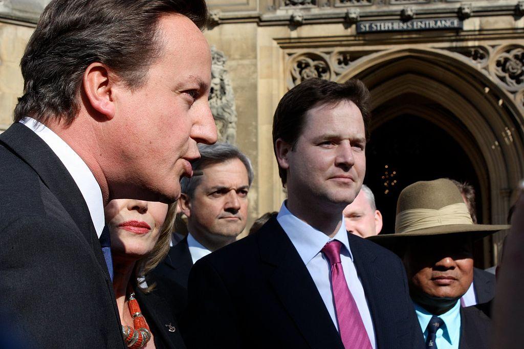 Photo from Nick Clegg's office via Wikimedia