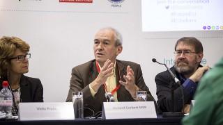 Speaking at EU reform meeting