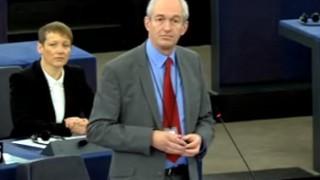 Speaking in plenary