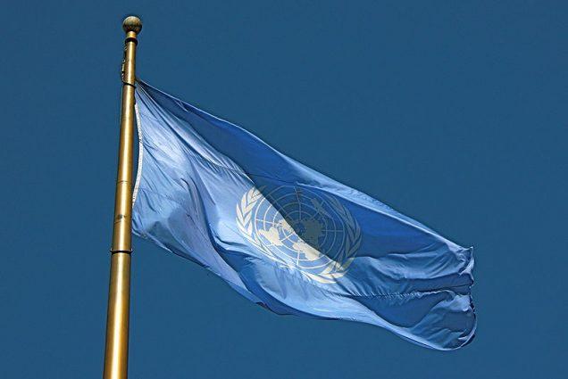 Flag of the UN