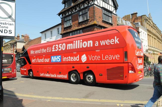 Vote Leave campaign bus